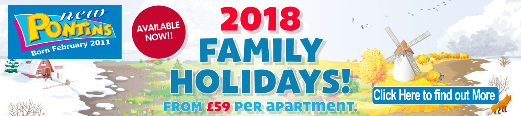 Discount Holidays at Pontins
